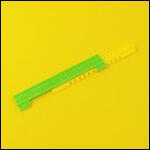"""Летковый заградитель 2-х элементный нижний c отверстиями для вентиляции """"Зеленый"""" (пластик) фото"""