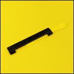"""Летковый заградитель 2-х элементный нижний c отверстиями для вентиляции """"Чёрный"""" (пластик) фото"""