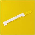 """Летковый заградитель 2-х элементный нижний c отверстиями для вентиляции """"Белый"""" (пластик) фото"""