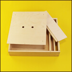 "Кормушка для пчел надрамочная ""EcoWood-BeeBox-70"" (дерево, на 7,0 литров) фото"