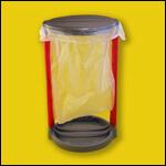 Подставка под мусорный мешок (с крышкой) фото