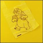 """Пакет упаковочный """"Медведь с мёдом"""" (400х220 мм, 10 штук) фото"""