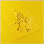 """Пакет упаковочный """"Медведь с мёдом"""" (350х300 мм, 10 штук) фото"""