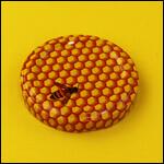 "Крышка Twist-Off D53мм ""Пчёлка на сотах"" (10 штук) фото"
