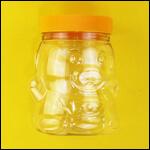 """Банка для меда """"Медвежонок с фартуком"""" с крышкой 700 мл фото"""