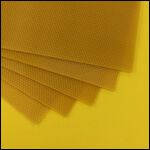 """Вощина цветная для свечей """"Желтая"""" (1 лист) фото"""