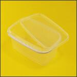 Ведро для меда с ручкой и крышкой прямоугольное 3,3 литра фото