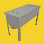 "Стол для распечатки рамок ""Профи"" (50х118, нержавейка) фото"