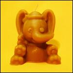 """Форма для изготовления свечей """"Слон"""" фото"""