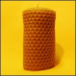 """Форма для изготовления свечей """"Цилиндрическая с сотами"""" фото"""