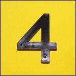"Цифра ""4"" (цвет чёрный) фото"