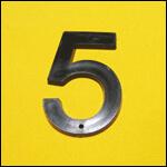 "Цифра ""5"" (цвет чёрный) фото"