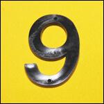 "Цифра ""9"" (цвет чёрный) фото"