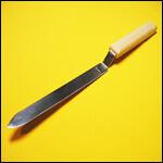 Нож пасечный 200 мм узкий нержавейка фото