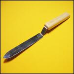 Нож пасечный 150 мм узкий нержавейка фото