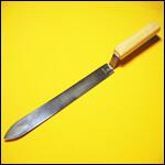 Нож пасечный 250 мм широкий нержавейка фото