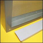 "Изолятор для пчелиных маток на 1-рамку ""Дадан"" сетчатый оцинковка фото"