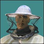 Сетка лицевая открытая с резинкой (ситец) фото
